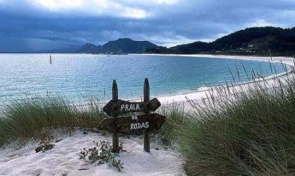 Visitar la Playa de Rodas