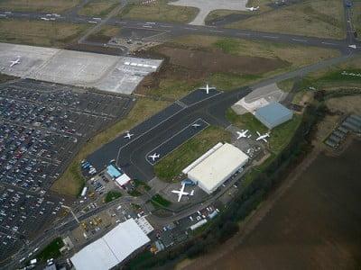 Vista Aeropuerto Edimburgo