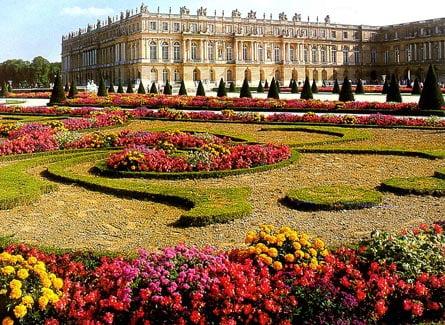 Vista Palacio de Versalles