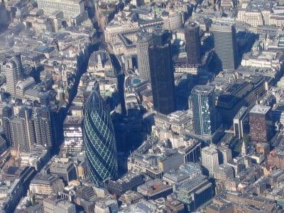 Vista aérea de la City