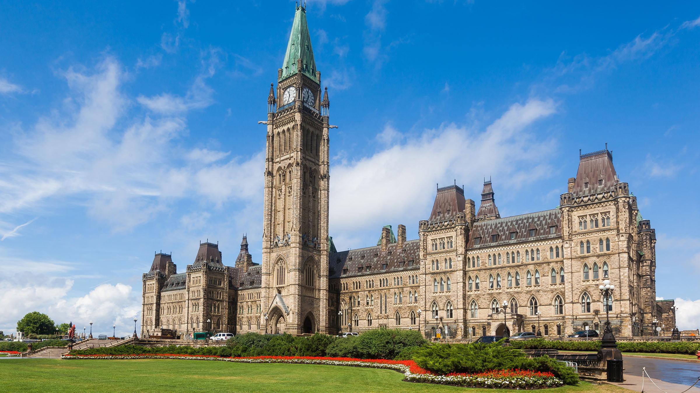 Vista del Parlamento