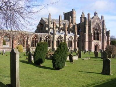 Vista exterior Rosslyn Chapel