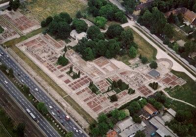 Vista panoramica de Aquincum
