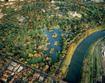 Vista panorámica de los Jardines de Melbourne