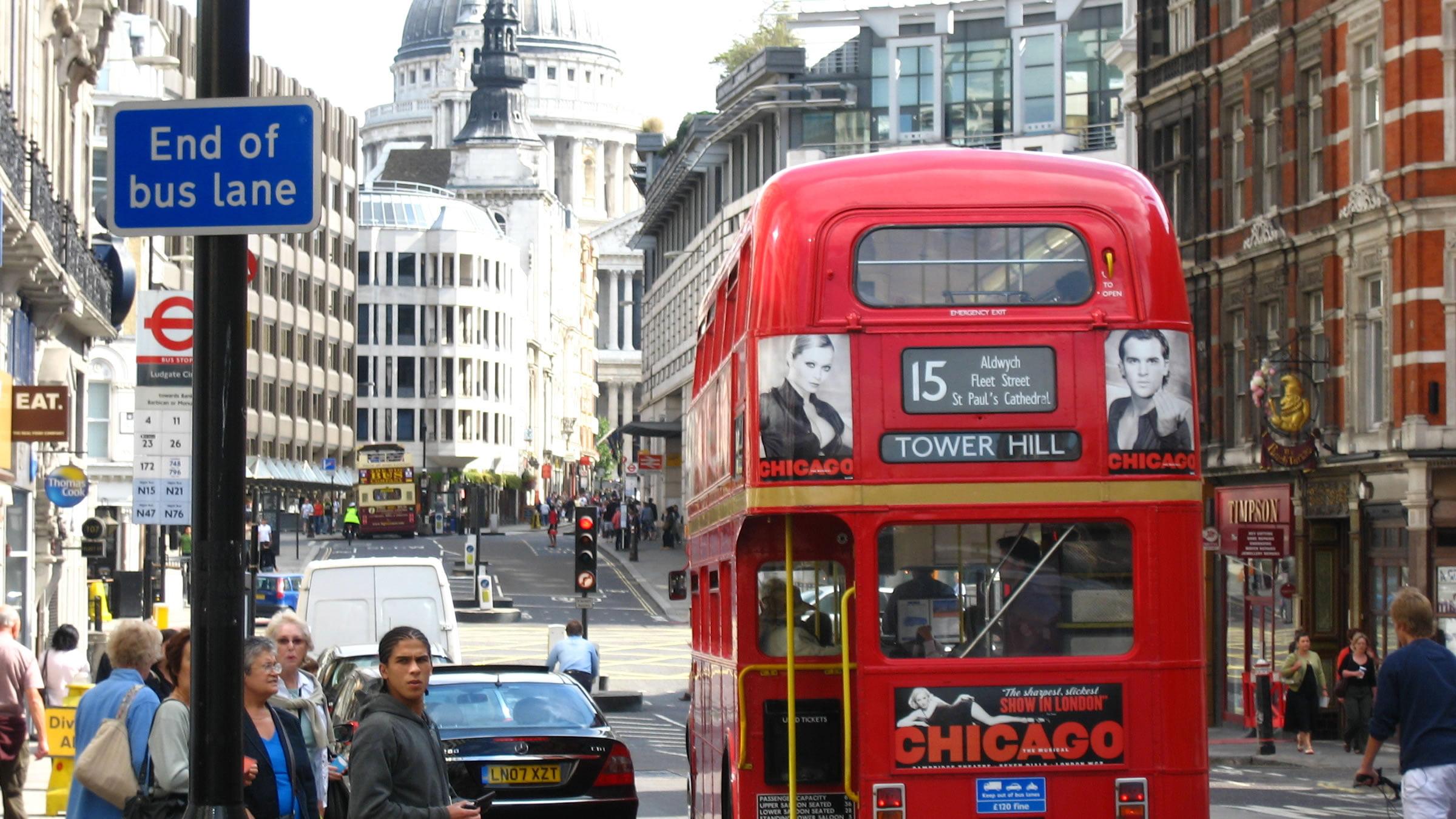 Vistas de Fleet Street, Londres