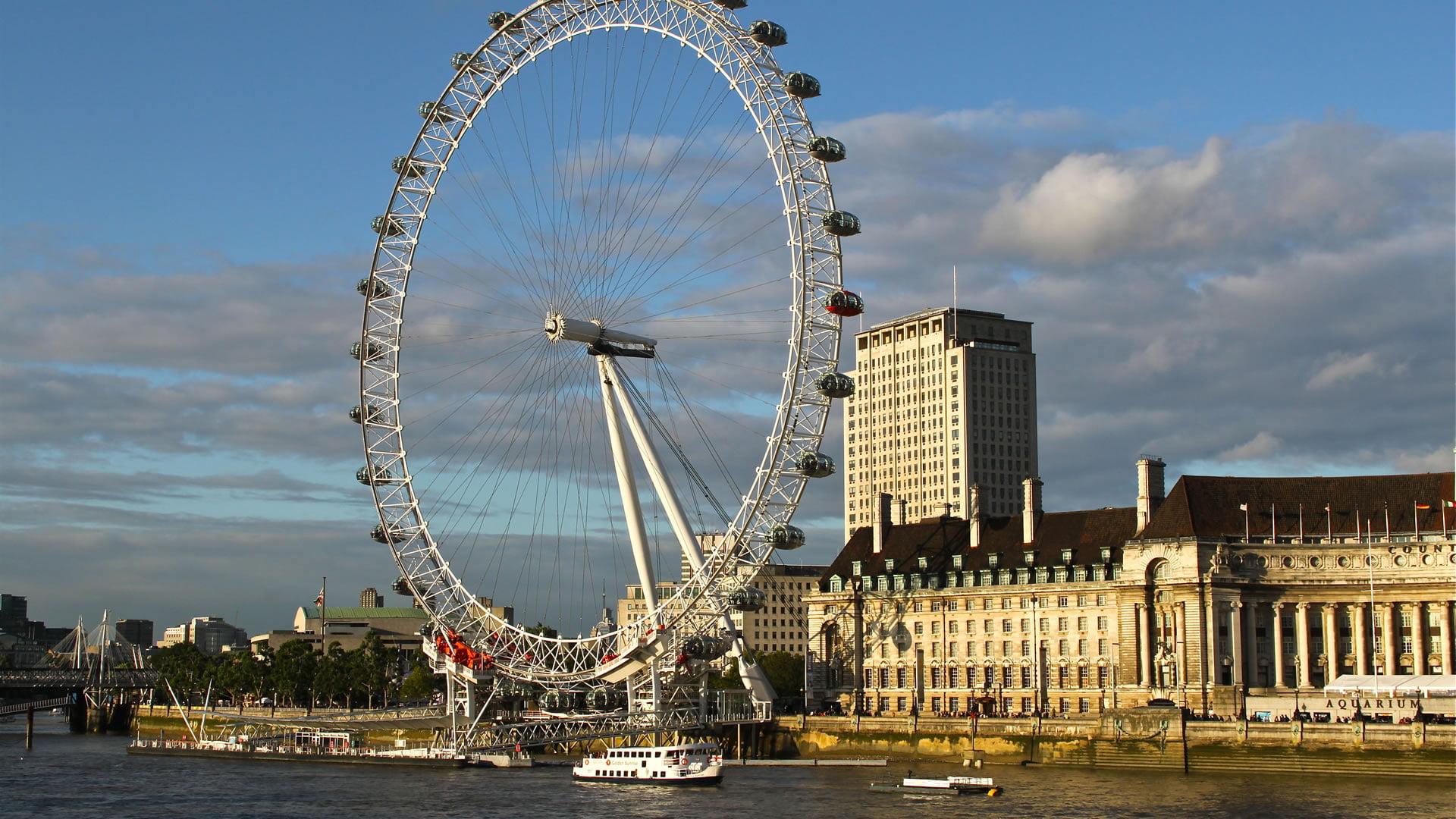 Vistas del London Eye