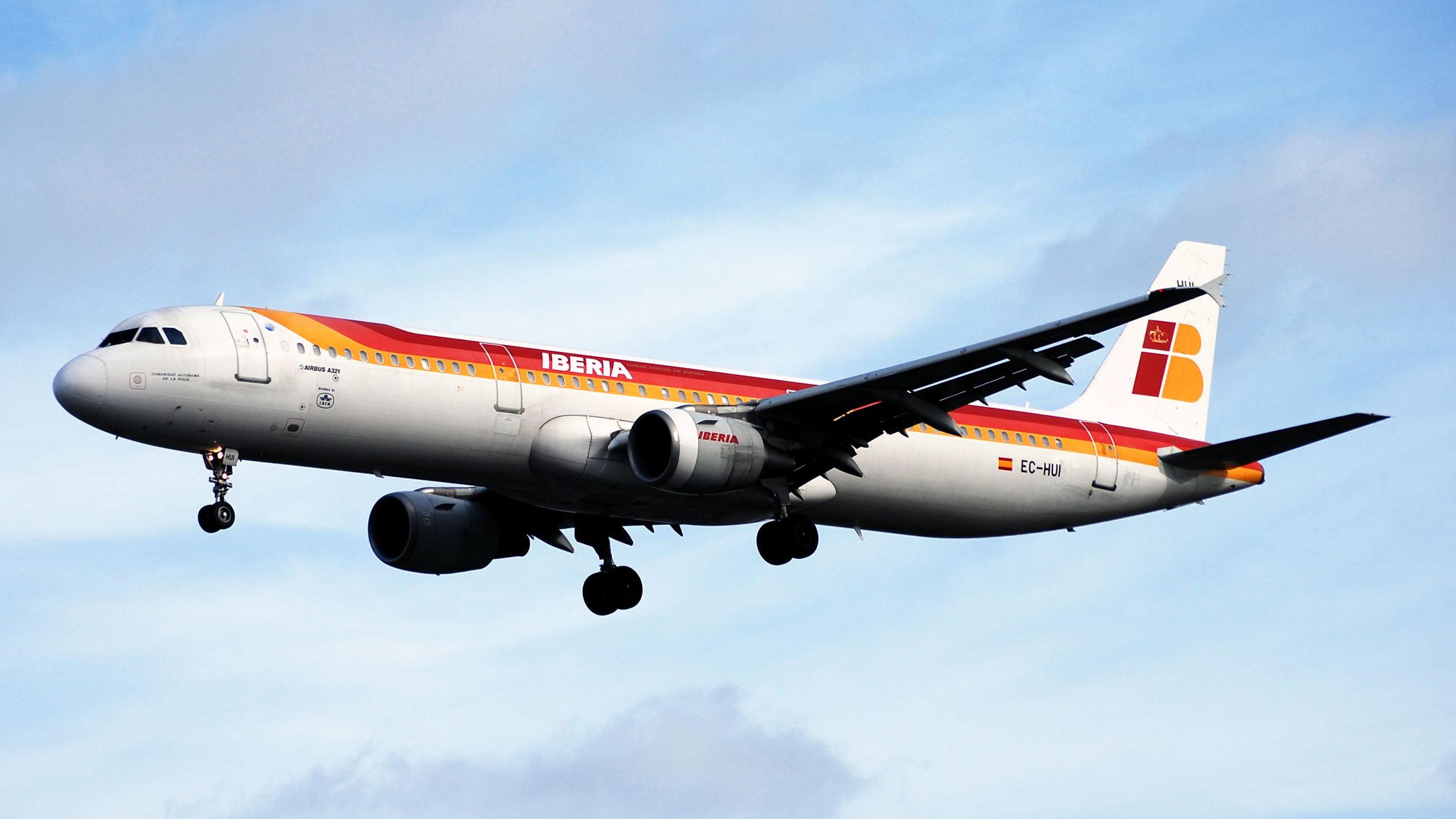 Volar con Iberia