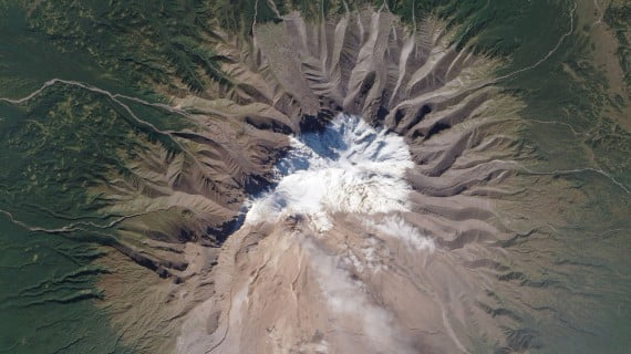 Volcán Shiveluch, Kamchatka, Rusia