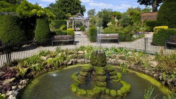 Walled Garden, Brockwell Park, Brixton