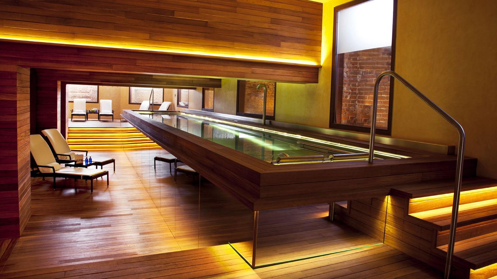 Zona de spa en el Hotel & Spa URSO