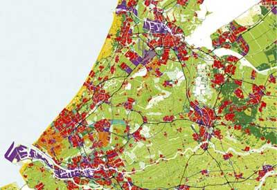 Zona poblada de Randstad
