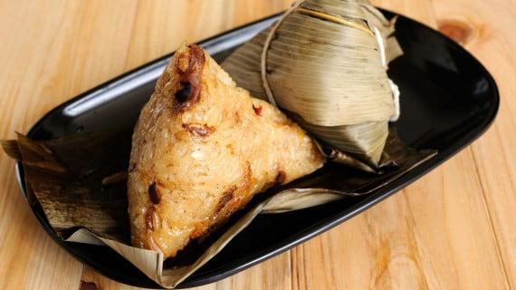 Zongzi, Zong o rellenos de arroz