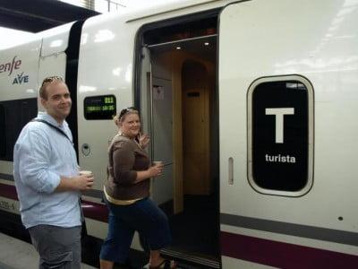 A Galicia en tren