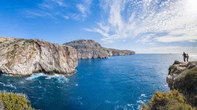 Acantilados de Dingli, Malta