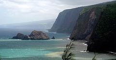 Acantilados de Hawai