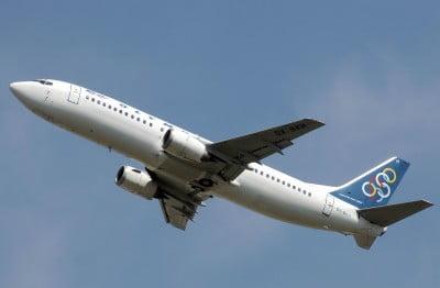 Aerolínea hacia Atenas