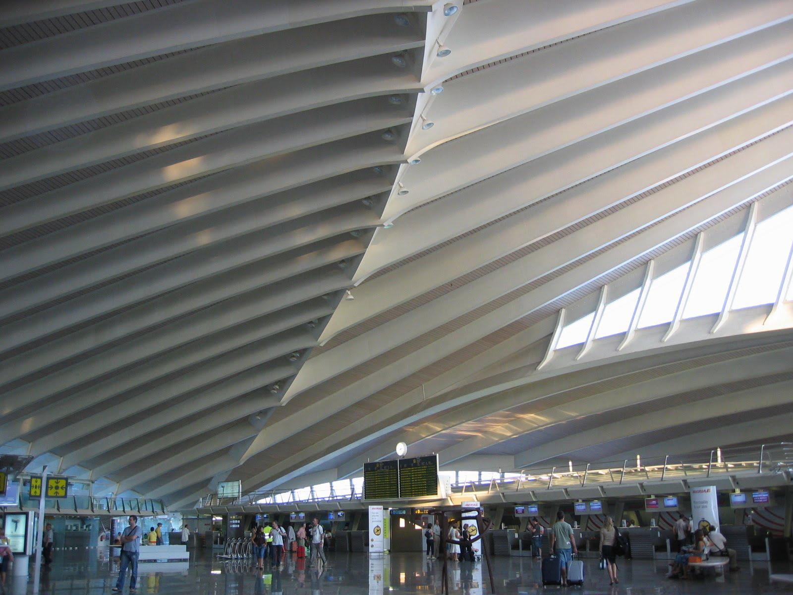 Aeropuerto de Bilbao en el País Vasco