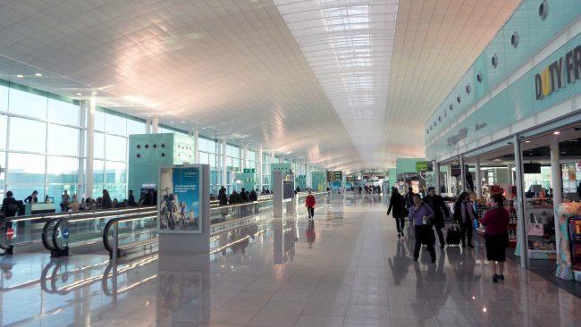 Sede central de Vueling no aeroporto de Barcelona-El Prat