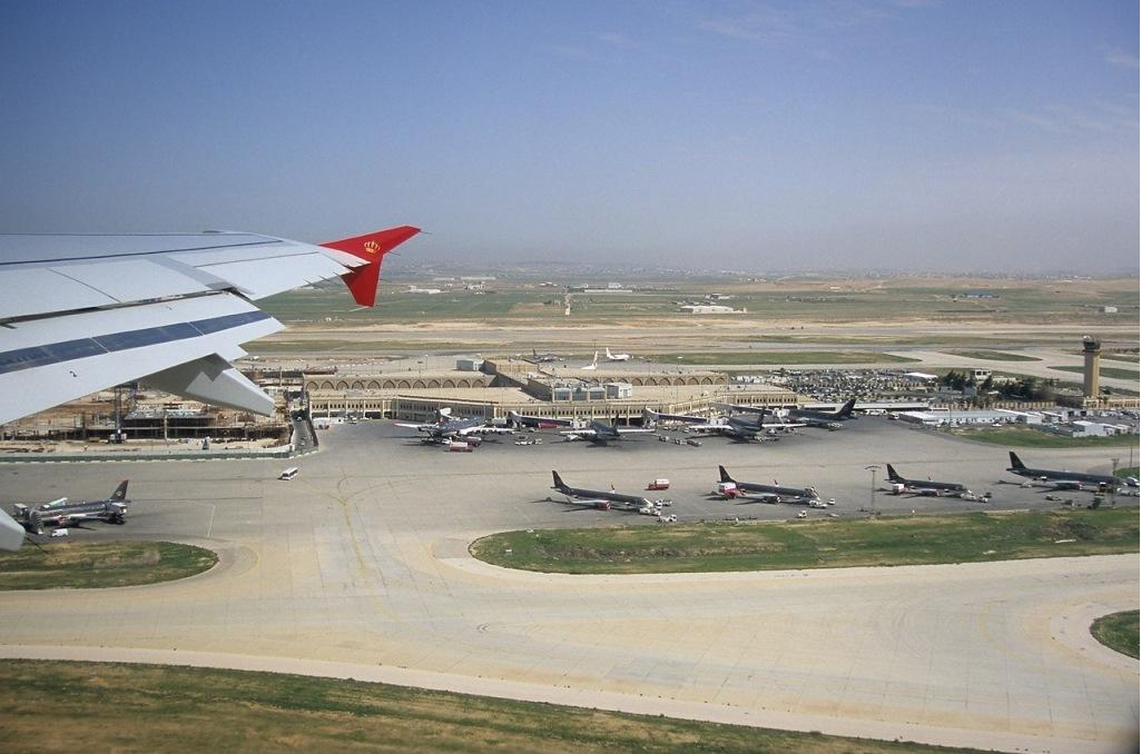 Aeropuerto de Jordania