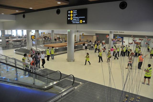 Aeropuerto en Chipre