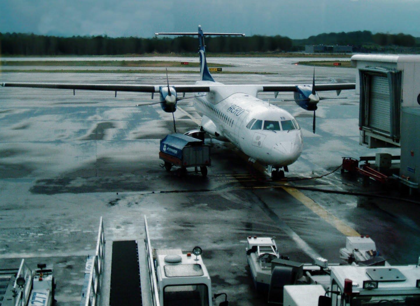 Aeropuerto en Finlandia