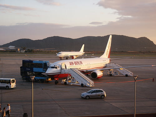 Aeropuerto en Ibiza