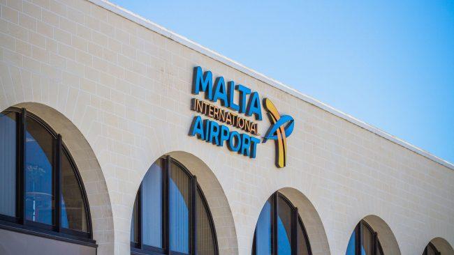 Malta Luqa nazioarteko aireportua