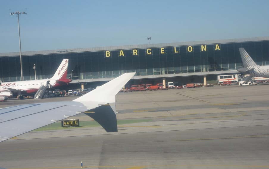 Resultado de imagen de aeropuerto del prat