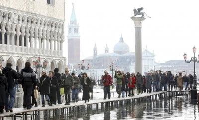 Agua Alta en Venecia