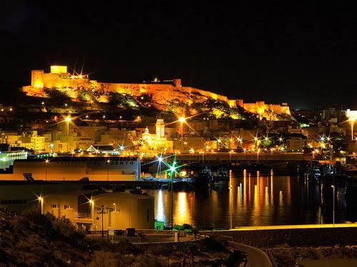 Alcazaba desde el puerto