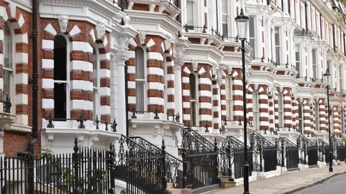 Alojarse en el área de Kensington, Londres