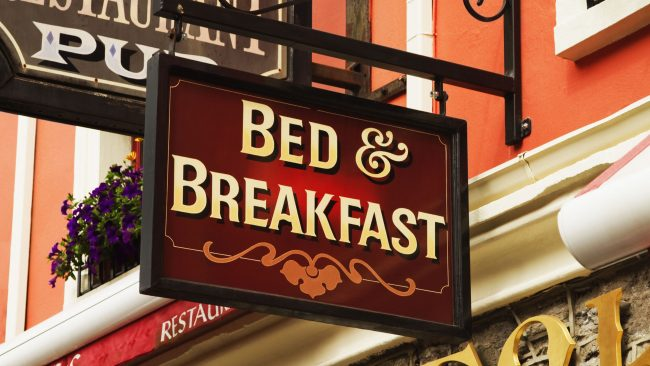 Alojarse en un Bed & Breakfast en Londres