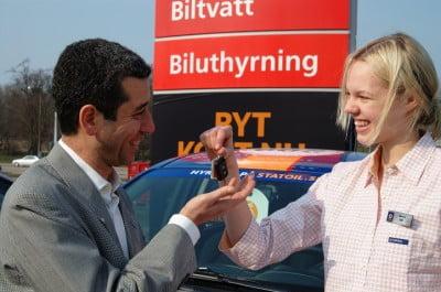 Alquilar un coche en Estocolmo