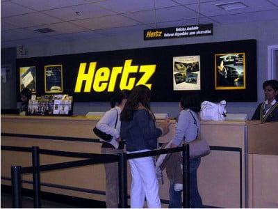 Alquiler de coches en Aeropuerto