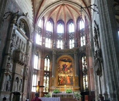 Altar Mayor dei Frari en Venecia
