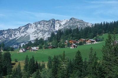 Amden en Suiza