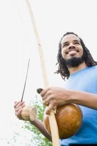 Angola y el capoeira instrumentos