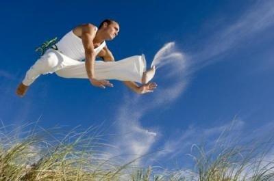 Angola y el capoeira salto