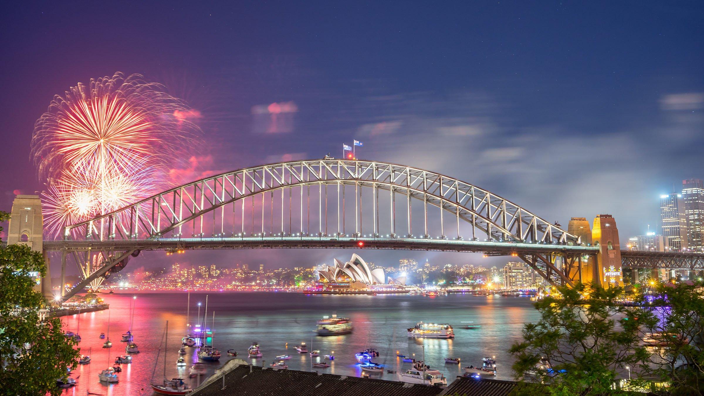 Resultado de imagen para año nuevo en sydney