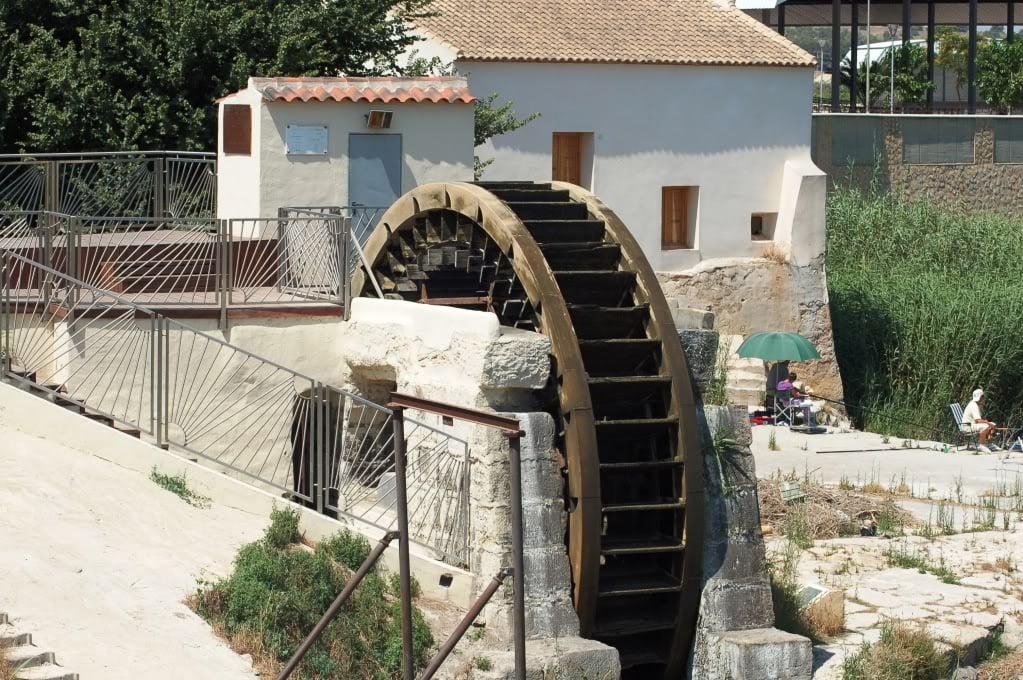 Antiguos molinos de Formentera