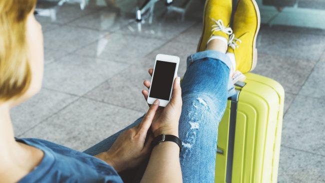 Aplicación Vueling para dispositivos móbiles
