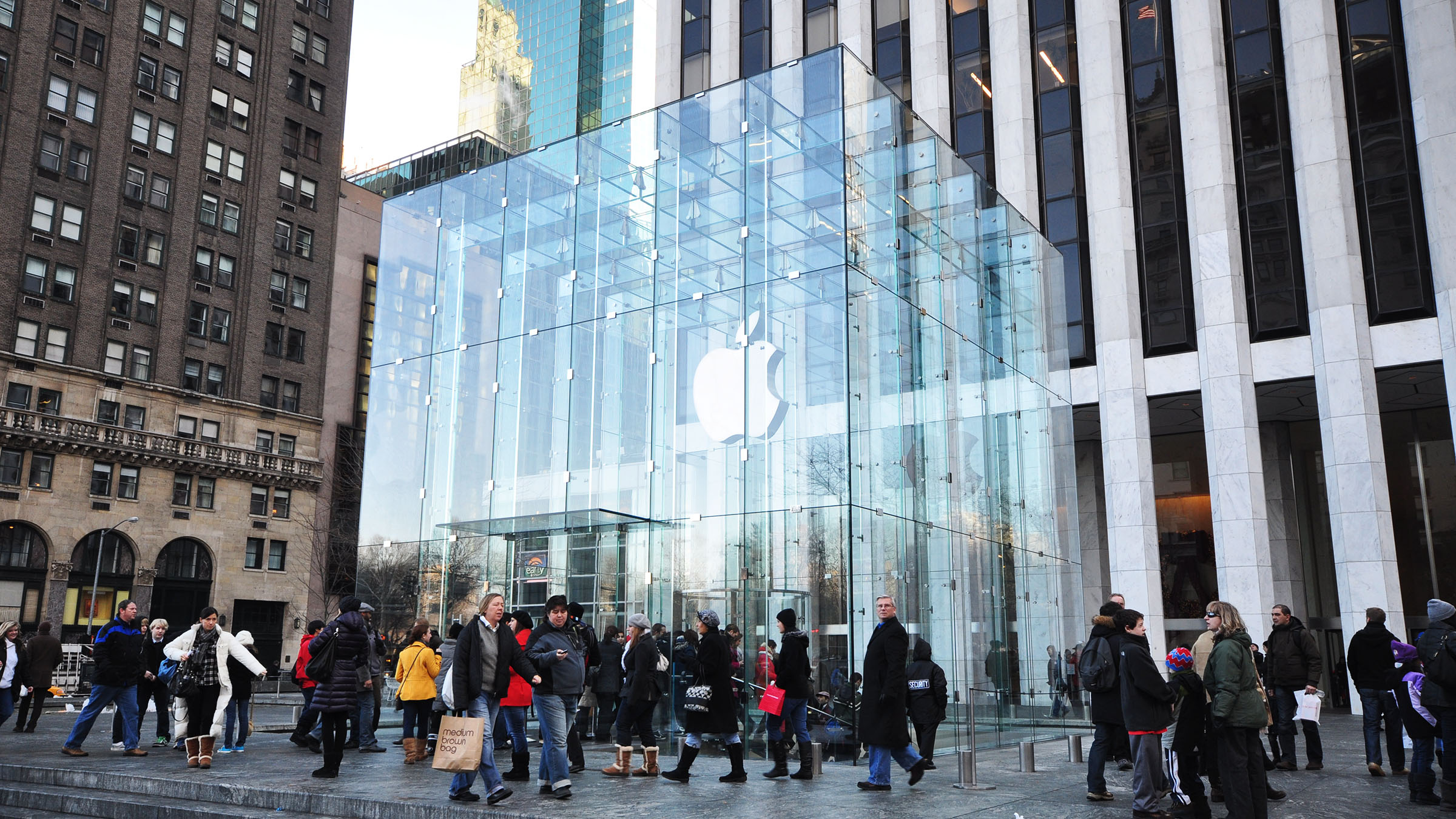 Apple En La Quinta Avenida