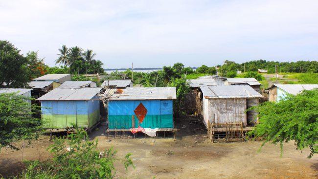 Área subdesarrollada de Santa Marta, Colombia