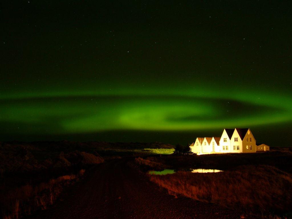 Aurora boreal de Islandia