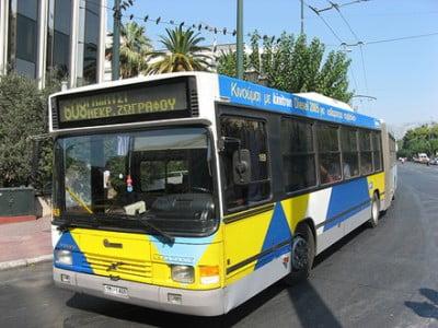 Autobús de Atenas