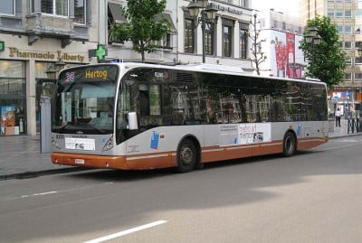 Autobús de Bruselas