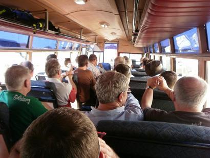 Autobús con turistas