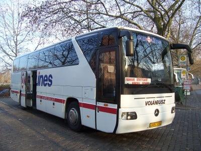 Autobús de Europa