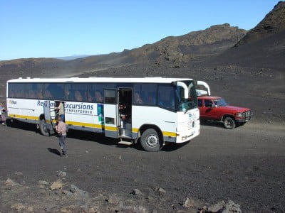 Autobús de Islandia