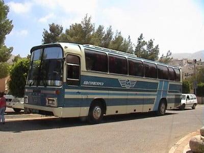 Autobús de Jordania
